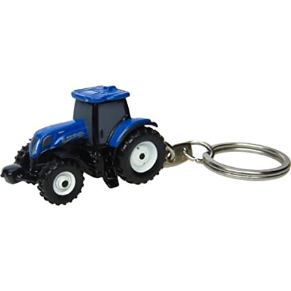 New Holland T7.210 Tractor Key Ring,