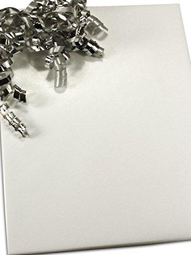 "White Gloss Gift Wrap 24"" X 100'"