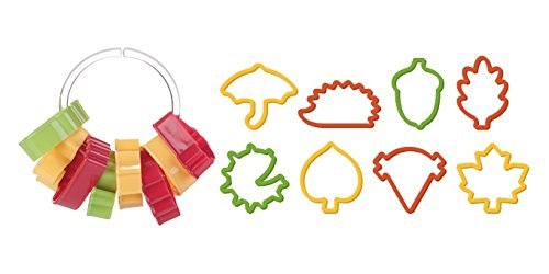 Tescoma Autumn Cookie Cutters Delicia, Assorted, 8-Piece by Tescoma