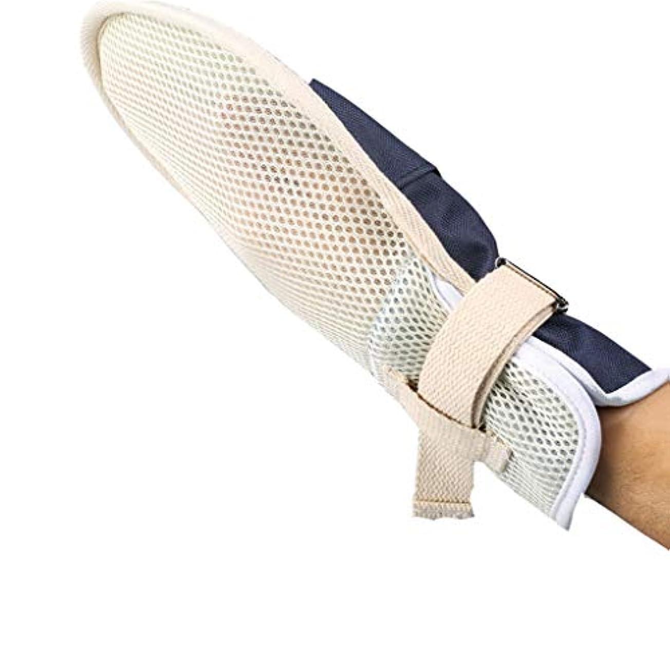 カナダ岩有害な医療用拘束手袋 - Ospital医療用拘束手袋、予防患者の自己傷害