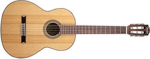 Fender CN-140S Solid Top Classical Nylon String Guitar, Rosewood Fingerboard - Natural