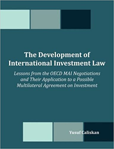 Amazon The Development Of International Investment Law Lessons
