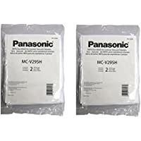 Panasonic MC-V295H Type C-19 Canister HEPA Vacuum Bag, Pack of 4
