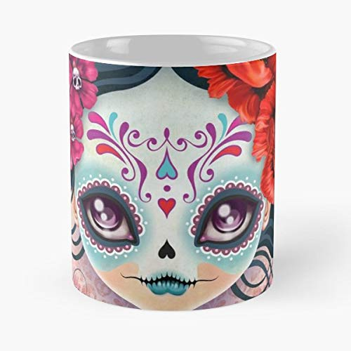 Autumn November Bohemian Bones - 11 Oz Coffee Mugs Unique Ceramic Novelty Cup, The Best Gift For Halloween.]()