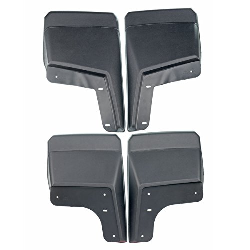 Set of 4 Front and Rear Mud Flaps Splash Guards for Hummer H2 2003-2009