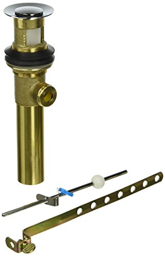 Pfister 972-022A All Metal Pop-Up Sub Assembly, Polished (Price Pfister Metal Pop Up Faucet)