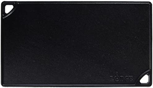 Lodge Ldp3 Rectangular Cast Iron Reversible Grillgriddle Black