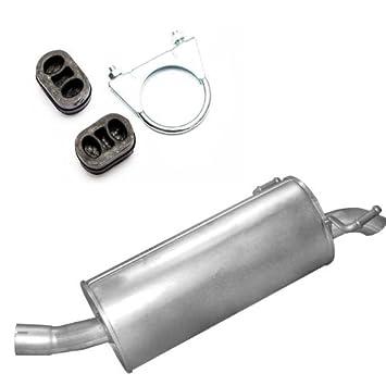 Montageware Neuware Auspuff Endtopf Endschalld/ämpfer passend f/ür das angegebene Fahrzeug ,siehe Artikelbeschreibung