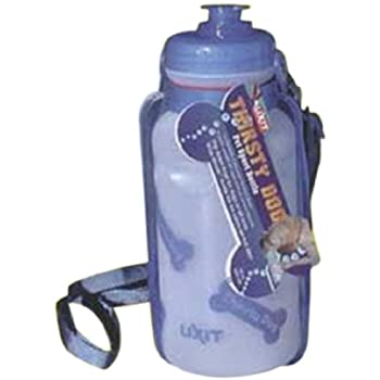 Lixit Thirsty Dog Portable Bottle And Bowl, Colors May Vary