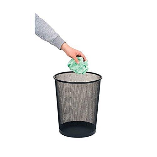 Ybmhome 1102 Wastebasket, Waste Bin, Round, Steel Mesh, 10