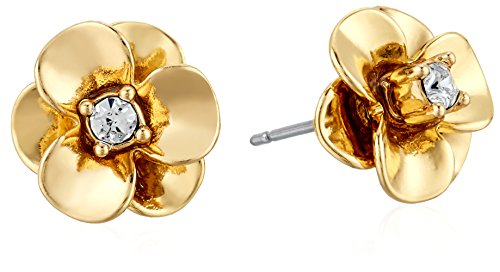 80aea5bf337267 Amazon.com: kate spade new york Flower White Stud Earrings: Jewelry