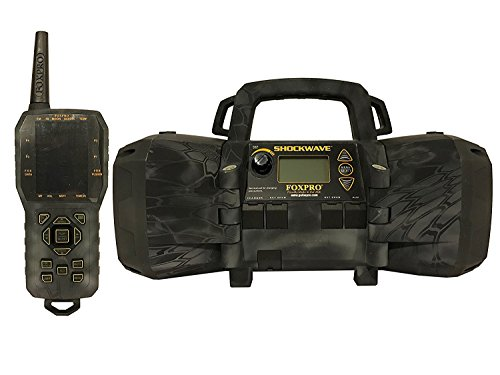 Lowest Price! FOXPRO Shockwave Electronic Predator Game Call - Kryptek Typhon Camo Exclusive