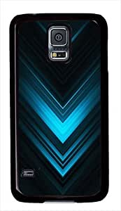 Abstract Blue Arrows Custom Samsung Galaxy S5 Case Cover - Polycarbonate - Black