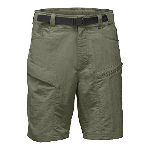 The North Face Men's Paramount Trail Shorts - Deep Lichen Green - (The North Face Nylon Belt)