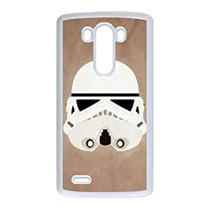 LG G3 Cell Phone Case White Star Wars 001 CVXEYERTE20666 Back Durable Phone Case