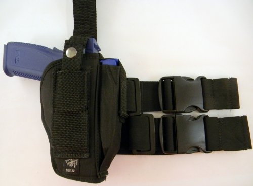 Usa Made TACTICAL DROP LEG THIGH HOLSTER RIG FOR HK H&K 45 9 & USP 9 40 45 FULL SIZE 4 TO 4.5