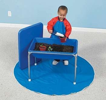 Children's Factory Small Sensory Table & Lid Set Classroom Furniture (1132)