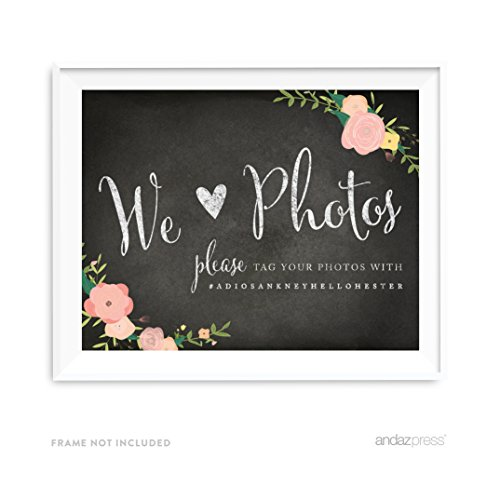 Andaz Press Personalized Chalkboard 8 5x11 inch product image