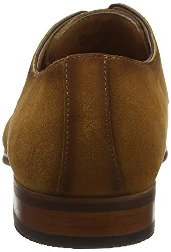 Tan Uomo Derby Scarpe Profile Stringate Tan Marrone Dune BYIqU