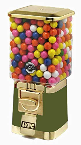 Pro Gold Gumball Candy Machine (Green)