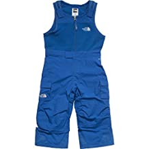 The North Face Insulated Snowdrift Bib Toddler Boys SKI PANTS SNORKEL BLUE