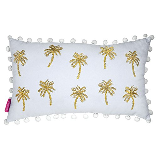 Lilly Pillow - Lilly Pulitzer Medium Pillow, Palms