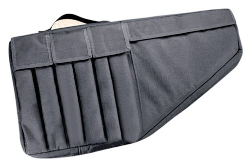 Uncle Mike's Tactical Submachine Gun Case, Black ()