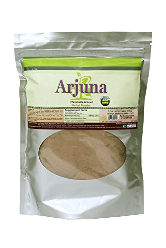 Arjuna Powder (Bark) (Terminalia Arjuna) (Ayurvedic Heart Care Formulation) (Wild Crafted from Natural Habitat) 16 Oz, 454 Gms 2x (Optimum Potency) Review