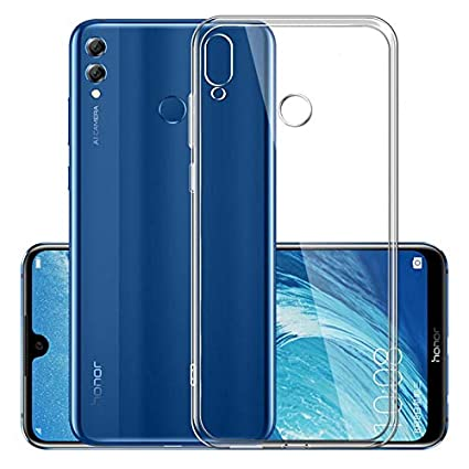 Prime Retail Huawei Y9 2019, Prime Retail Exclusive - Transparent Back  Cover Clear Thin Case - for Huawei Y9 2019