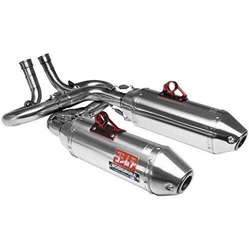 Yoshimura Dual Series Utv RS-2 Stainless Steel Complete Systems for 2005-2007 Yamaha Rhino 660 - Chrome - One - Yoshimura Complete System