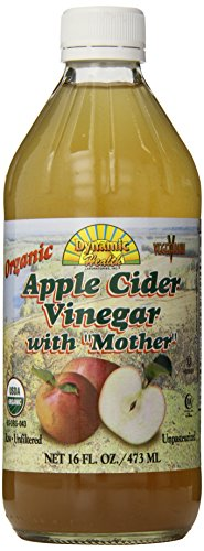 Dynamic Health Organic Apple Cider Vinegar With Mother, 16 oz Liquid