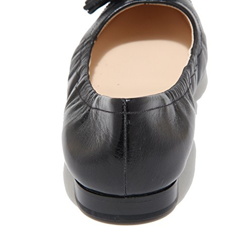 Donna Ballerina Woman Shoes Nero Prada Black 8273i UTwBff