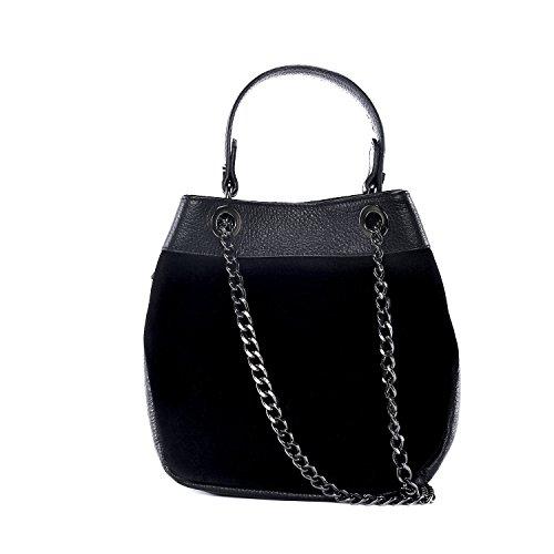 cuir Noir à CUIR nouvelle femme Sac collection en main DESTOCK grainé aWYwpWqRTx