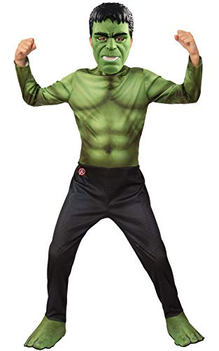 Incredible Hulk Halloween Costumes - Rubie's Marvel Avengers: Endgame Hulk Children's