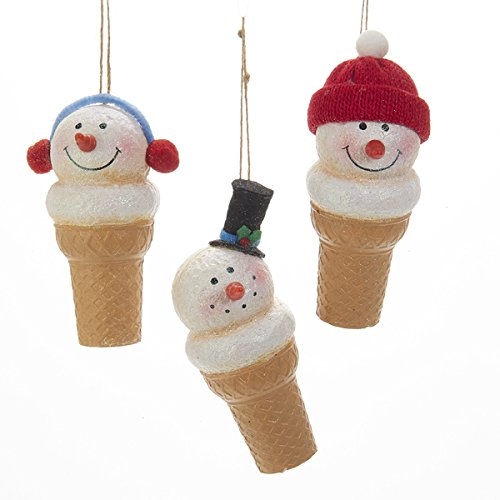 Ice Cream Christmas Ornaments - 9
