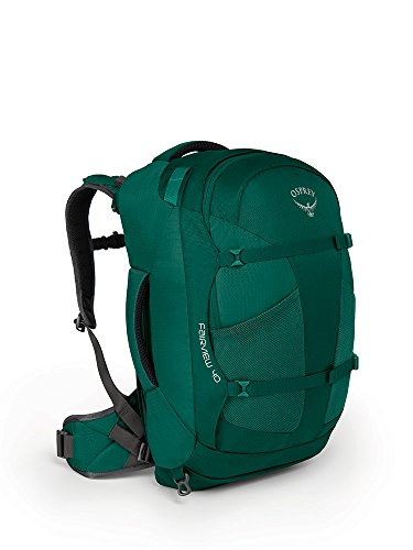 Osprey Packs Fairview 40 Travel Backpack, Rainforest Gree...