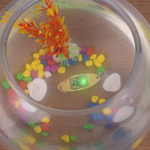 1pcs LED Fishing Lure Fish Bait LED Lights Electronic Appliances Lure Metal Lure Luminous Fishing Tackle Three