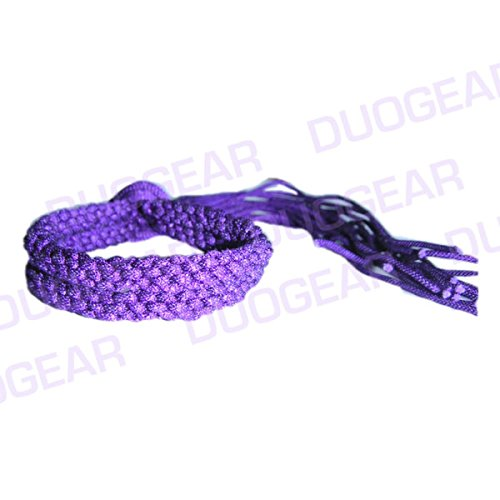 PURPLE DUO MUAY THAI KICKBOXING RING FIGHTERS TRADITIONAL PRAJIOUD PRAJEAT ARM BANDS DUO GEAR
