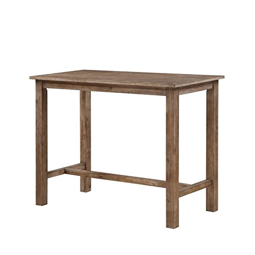 Boraam 75026 Sonoma Pub Table, 36 x 47.25 x 23.75, Neutral Driftwood Gray Finish (Rectangle Bar Table)