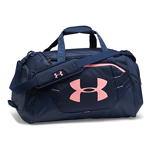 Under Armour Undeniable 3.0 Medium Duffle Bag, Midnight Navy/Midnight Navy, One Size