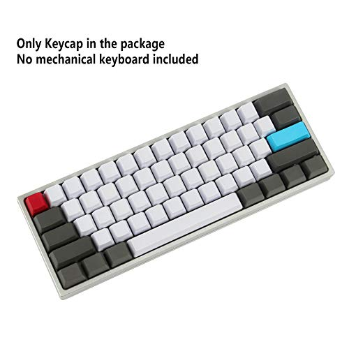 NPKC Blank Customized 61 87 104 ANSI Keyset OEM Profile Thick PBT Keycap Set Suitable for Cherry MX Switches Mechanical Gaming Keyboard (Only Keycap)