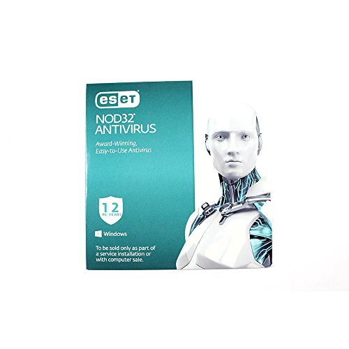 ESET NOD32 Antivirus - 1 Device, 2 Years (PC) OEM (Best Low Resource Antivirus 2019)