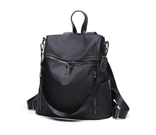Bag black Ladies PU School Women Satchel Leather for Casual FIGROL Girls �� Travel Shoulder Purse Backpack 3570 Backpack Bag CXYwqf1