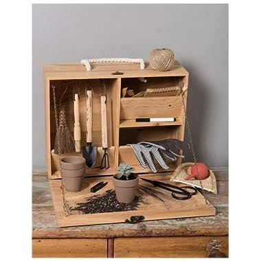 Gardener's Supply Company Indoor Potting Box and Tools
