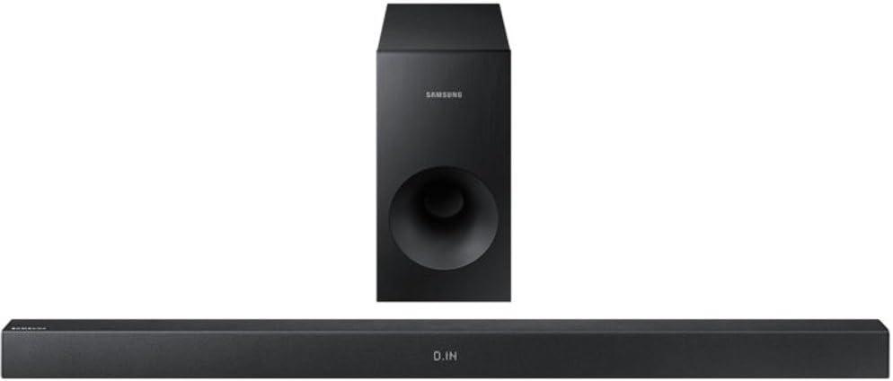 Samsung HW-K335/ZG Altavoz soundbar 2.1 Canales 130 W Negro Inalámbrico y alámbrico - Barra de Sonido (2.1 Canales, 130 W, DTS, 130 W, Inalámbrico y alámbrico, 28 W)
