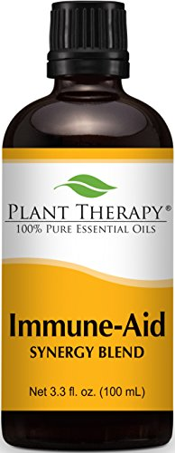 Plant Therapy Immune Aid Synergy Essential Oil 100% Pure, Undiluted, Therapeutic Grade (100 mL (3.3 oz))