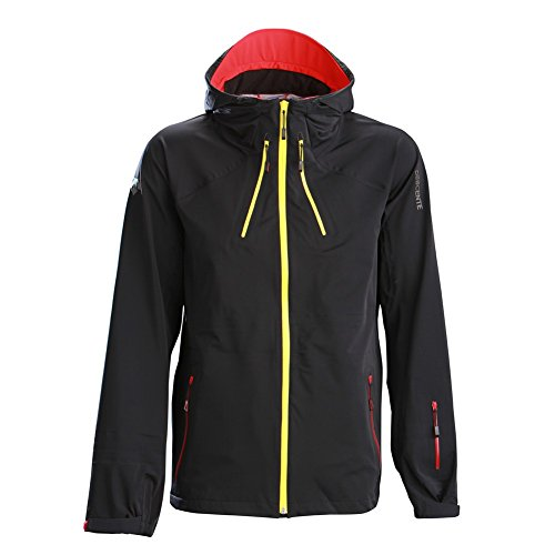 Descente Haines Jacket Black/Electric Red M