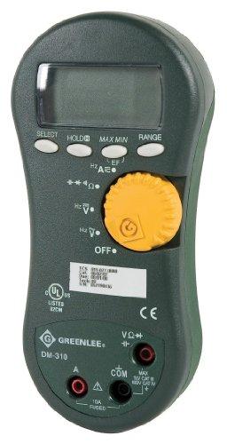 Greenlee DM-310 Averaging Digital Multimeter, 1000-Volt 10A AVG by Greenlee (Image #1)