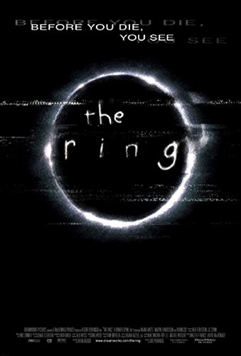 The Ring 2002 S/S Movie Poster 11x17