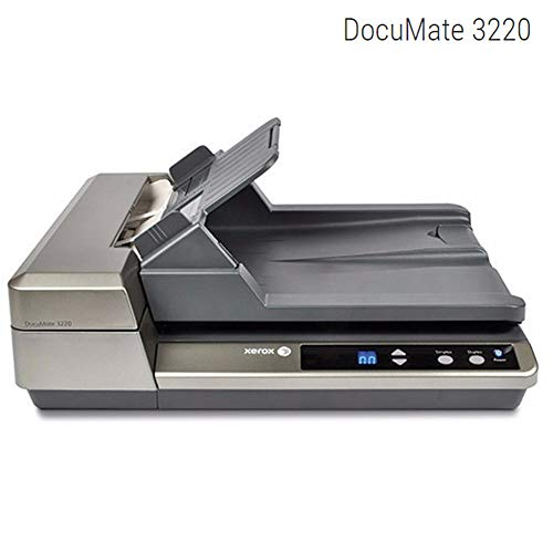 Xerox Business Cards - Xerox 97-0041-20U DocuMate 3220 Duplex Color Sheetfed and Flatbed Scanner